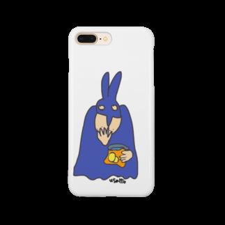 Bluelemonのうさっとマン(ポテチ) Smartphone cases