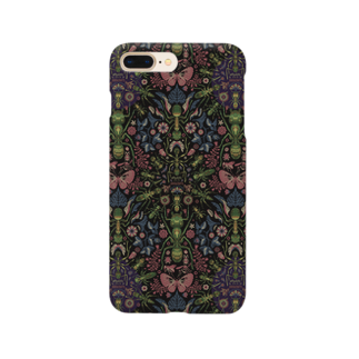 TETETEN SHOPのBUGS & CRAFTS 001 Smartphone cases