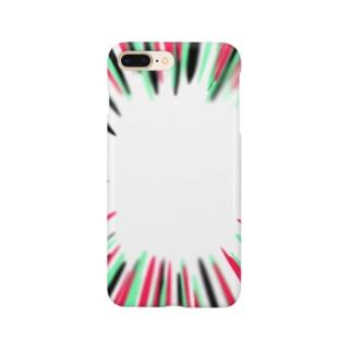 集中線 Smartphone cases