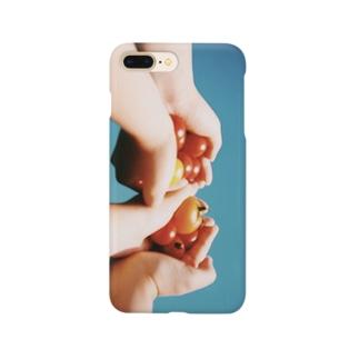 ひがしかわ産トマト Smartphone cases