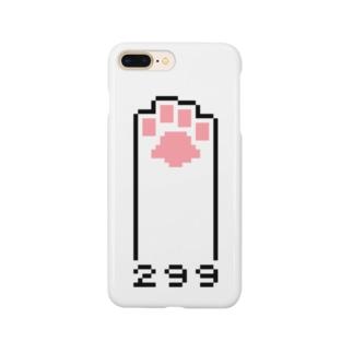 ドット肉球 Smartphone cases