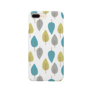 葉っぱ Smartphone cases