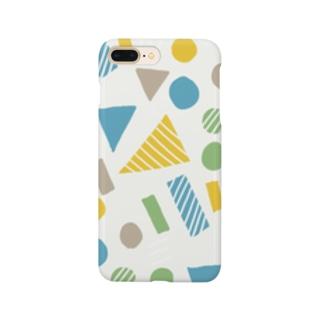 まるさんかくしかく Smartphone cases
