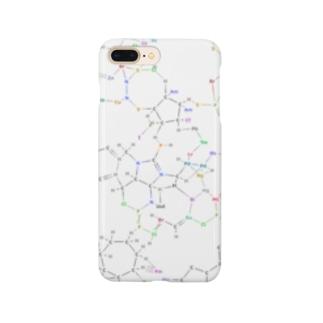 化学構造式シリーズ5 Smartphone cases