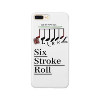 Six Stroke  Roll-ドラム音符 Smartphone cases