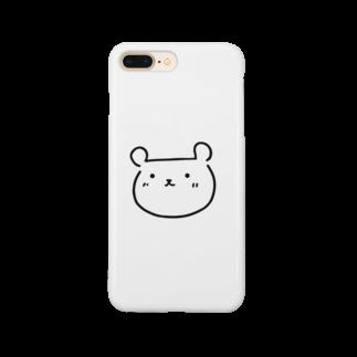 manatee1218のくまたん(仮) Smartphone cases