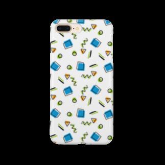 1week shopの幾何学系 Smartphone cases