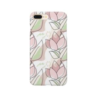 花模様 Smartphone cases
