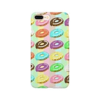 ドーナツまみれ Smartphone cases