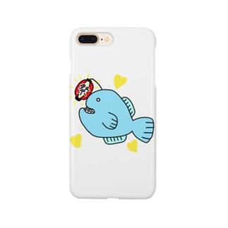 🏮ちょうちんあんこうin夏祭り🏮 Smartphone cases