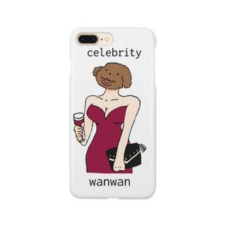 セレブリティワンワン Smartphone cases