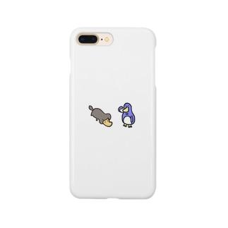 カモノハシとぺんぎん Smartphone cases