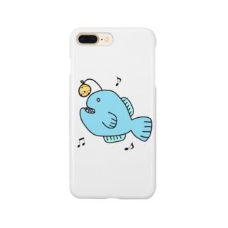 ちょうちんあんこうin夏祭り(ヨーヨーver.) Smartphone cases