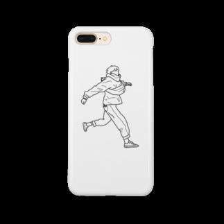 SHOP.もーちょの風をきって Smartphone cases