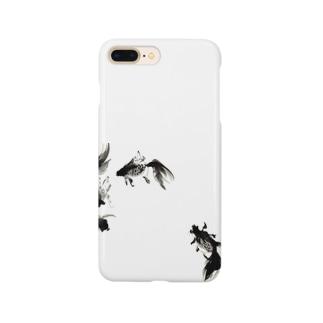 墨のきんぎょ Smartphone cases