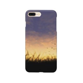 夕暮れの空 Smartphone cases