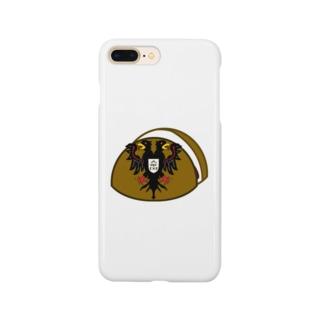 お饅頭国の紋章 Smartphone cases
