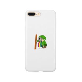 吐いてるドワーフ Smartphone cases
