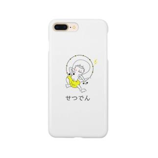 カミナリさまの節電グッズ Smartphone cases