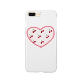 真実のさくらんぼちゃん Smartphone cases