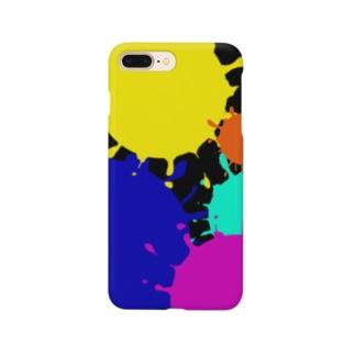 ペイント柄 Smartphone cases