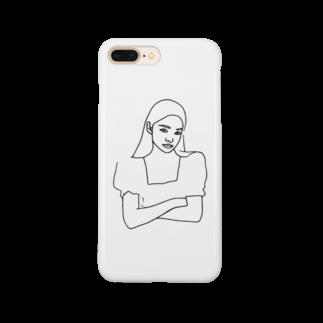 AileeeのGirl.23 Smartphone cases