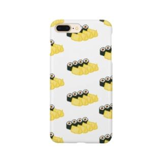 お寿司クン(助六 関東) Smartphone cases