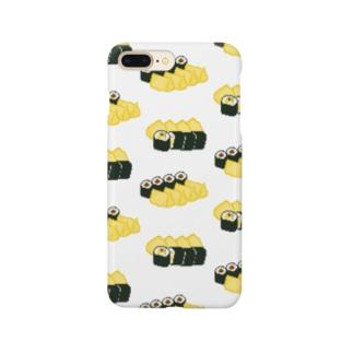 お寿司クン(助六) Smartphone cases