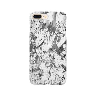 モノクロ1 Smartphone cases