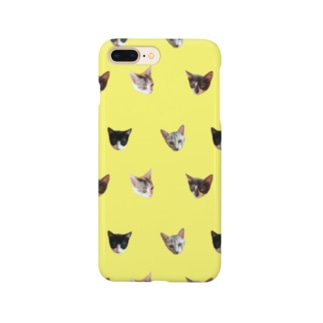 No.8 フルーツ4兄弟 ドット♪ Smartphone cases