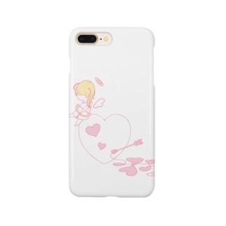 きゅーぴっと Smartphone cases