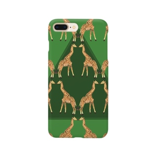 KISSING GIRAFFES Smartphone cases