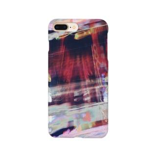 ワインレッド Smartphone cases