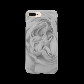 chouchouminekoのバラのスマホケース2 Smartphone cases