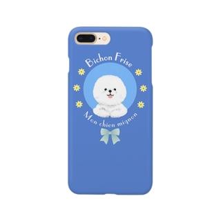 ごきげん!ビションフリーゼ Smartphone cases