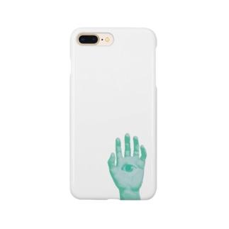 邪眼ポップ Smartphone cases
