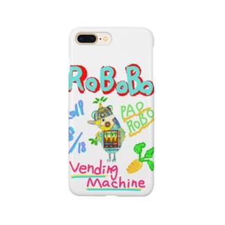 ROBOBO🤖「パオロボ」 Smartphone cases