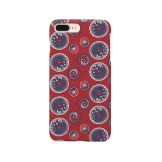 【日本レトロ#15】和傘 Smartphone cases