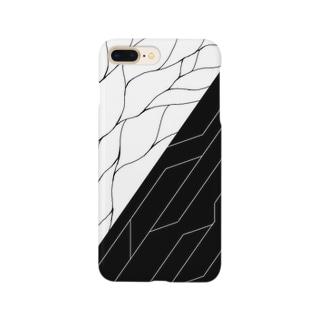 白黒回路 Smartphone cases