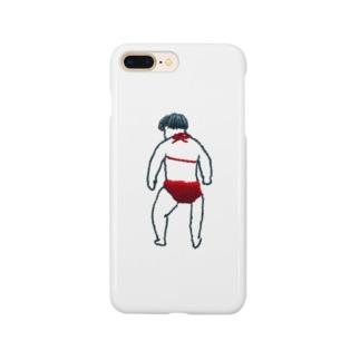 ビキニを着た子供・刺繍 Smartphone cases