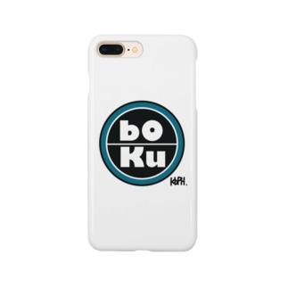 bOKu ロゴスマホケース Smartphone cases