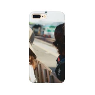 館山の駅のホーム Smartphone cases