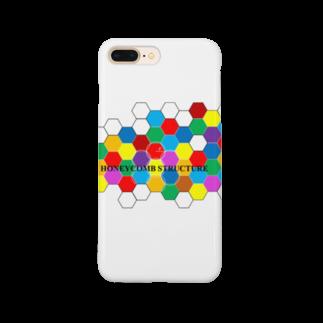 ζWalkerのハニカム Smartphone cases