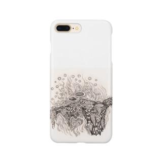 菌類の森 Smartphone cases