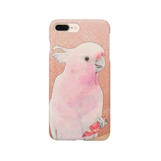 クルマサカオウム Smartphone cases