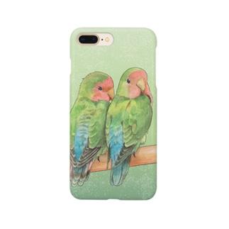 コザクラインコ Smartphone cases