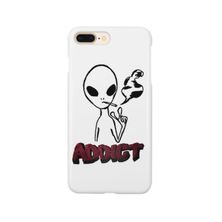 スモーカーエイリアン Smartphone cases
