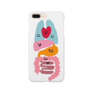 臓器だZOU(顔アリ版) Smartphone cases