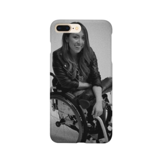 白黒で笑ってるよシリーズ Smartphone cases