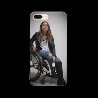 中嶋涼子の車椅子ですがなにか?!のロゴなしシリーズ Smartphone cases